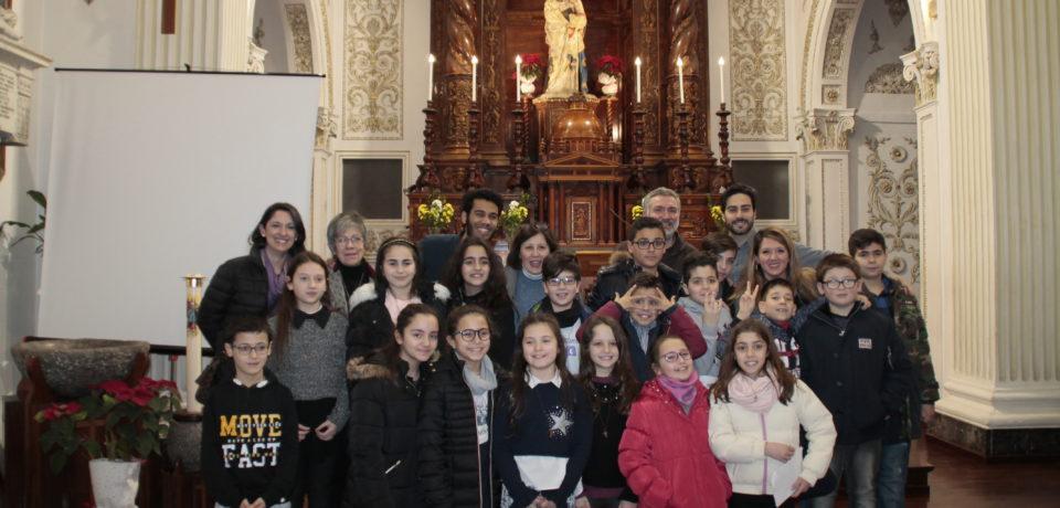 Palermo, 2 febbraio 2019 – Araldini Rito dell'Eccomi
